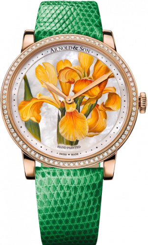 Arnold & Son Royal Collection HM Flower Yellow Iris 1LCMP.M05A.L510A