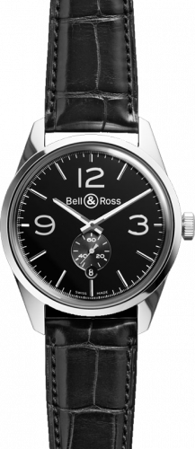 Bell & Ross Vintage Officer BR 123 Officer Black
