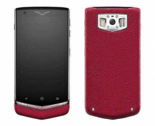 Vertu Constellation V Gemstone Rose Ruby