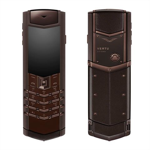 Vertu Signature S Design Pure Chocolate нержавеющая сталь