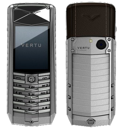 Vertu Ascent X2010 Titan Black Leather