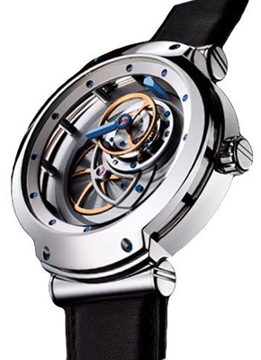 Blu Tourbillons 43 mm WG MT3/030.60.7/D