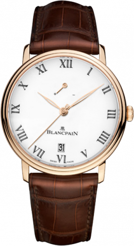 Blancpain Villeret Manual Winding Power Reserve 8 Jours 6613-3631-55B
