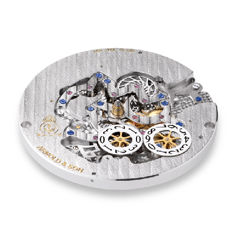 Arnold & Son Royal Collection Hornet World Timer Skeleton 1H6AS.O01A.C79F