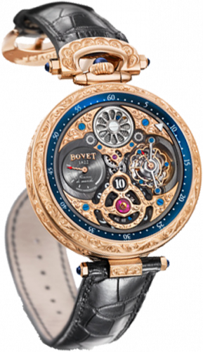 Bovet Amadeo Fleurier Grand Complications 47 5-Day Tourbillon Jumping Hours AIHS003-G123467