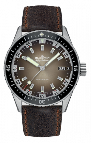 Blancpain Fifty Fathoms Bathyscaphe Day Date 70s 5052-1110-63A