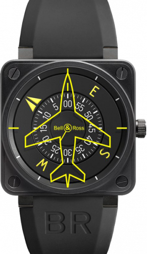 Bell & Ross Aviation Heading indicator BR 01 Heading indicator