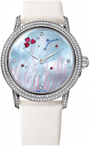 Blancpain Women Ultra-Slim 3300-35C54D-52B