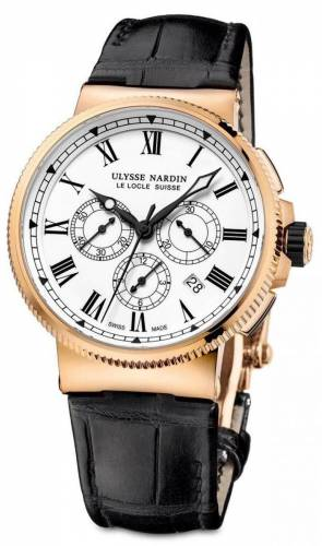 Ulysse Nardin Marine Chronograph 43mm Red Gold LE 1506-150LE
