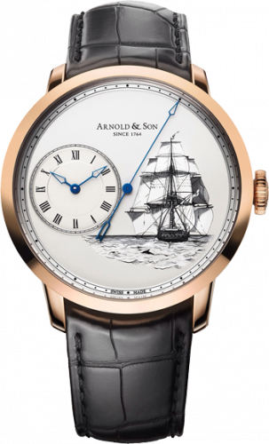 Arnold & Son Instrument Collection HMS Beagle Set - TB Rose Gold 1ARAP.W08A.C120A