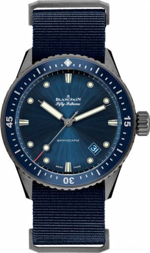 Blancpain Fifty Fathoms Bathyscaphe 5000-0240-NAOA