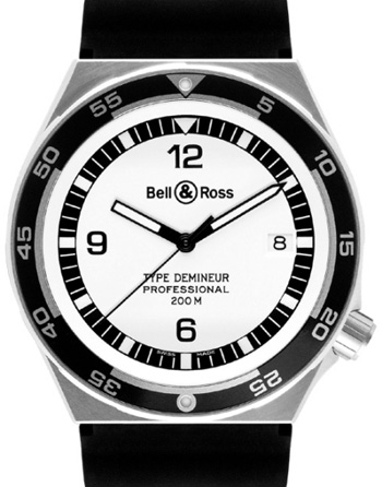Bell & Ross Архив Bell & Ross Type Demineur Type Demineur White Rubber
