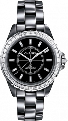 Chanel J12 Chromatic Diamond Baguette 38 mm H3155