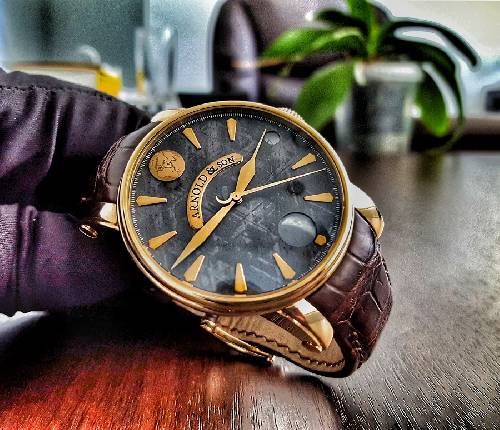 Arnold & Son Royal Collection True Moon Meteorite 1TMAP.S04A.C60B