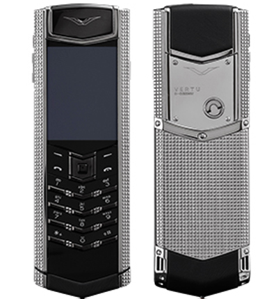 Vertu Signature S Design Clous de Paris полированная сталь
