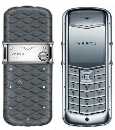 Vertu Constellation Monogram Grey