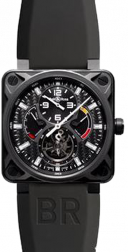 Bell & Ross Aviation BR 01 46mm Tourbillon BR 01 Tourbillon Rubber