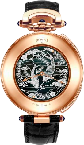 Bovet Amadeo Fleurier Grand Complications 46 7-Day Tourbillon Orbis Mundi AIOM505
