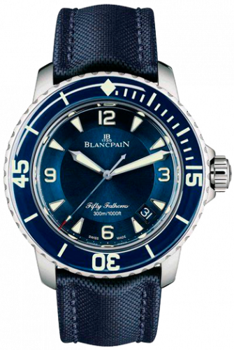 Blancpain Fifty Fathoms Ultra-Slim Limited Edition 5015-1540-52