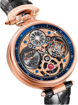 Bovet Amadeo Fleurier Grand Complications 47 5-Day Tourbillon Jumping Hours AIHS003