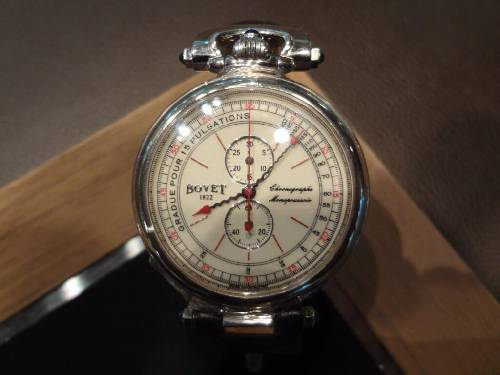 Bovet Amadeo Fleurier Complications Chronograph Monopusher CPO361