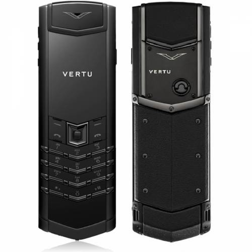 Vertu Signature S Design Pure Black бу