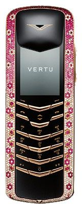 Vertu Signature M Design Rose Gold Pink Diamonds