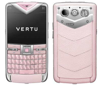 Vertu Constellation Quest розовая кожа