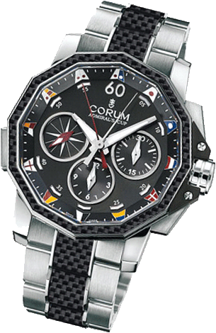 Corum Admiral`s Cup Challenge 44 Split-Seconds 986.691.11/V761 AN92