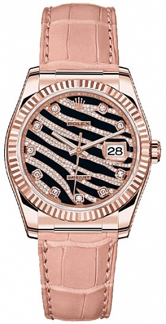 Rolex Datejust Royal Pink 36mm Everose Gold 116135