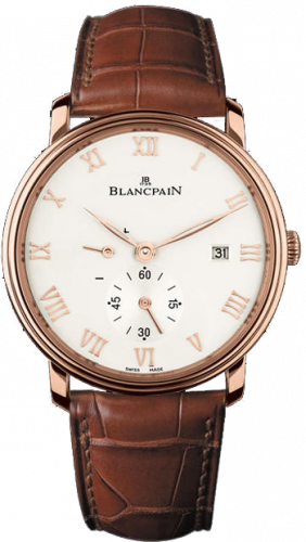 Blancpain Villeret Ultra-Slim Hand-Winding Small Seconds Power Reserve 6606-3642-55B
