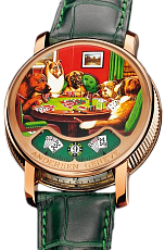 Svend Andersen Montre A Tact Tact Poker Or Rose Poker