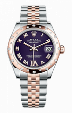 Rolex Datejust 26,29,31,34 mm 31mm Steel and Everose Gold 178341-0008