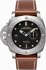 PANERAI LIMITED LUMINOR SUBMERSIBLE 1950 LEFT-HANDED 3 DAYS AUTOMATIC TITANIO PAM00569