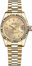 Rolex Datejust 26,29,31,34 mm 28mm Yellow Gold 279178G