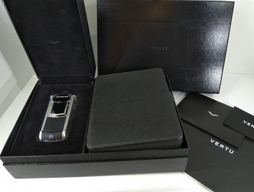 Vertu Constellation Ayxta Polished Black Ceramic