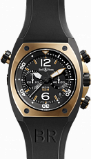 Bell & Ross Marine Chronograph BR 02-94 Pink Gold & Carbon