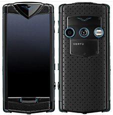 Vertu Constellation Touch Black Neon Blue