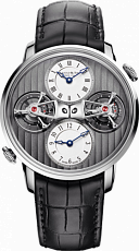 Arnold & Son Instrument Collection Double Tourbillon Dual Time 1DTAW.S01A.C121W