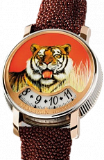 Svend Andersen Montre A Tact Tact or gris Tigre Or Gris Tigre