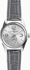 Bell & Ross Vintage Officer BR 123 Officer Silver