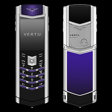 Vertu Signature S Design Royal Blue Enamel