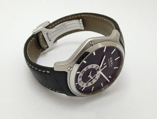 Ebel Classic Hexagon GMT 46mm 9301F61