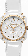 Bell & Ross Aviation BR S Pink Gold & White Ceramic BR S 98-WCR