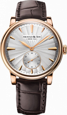 Arnold & Son Royal Collection HMS1 Guilloche Rose Gold 1LCAP.S10A.C110A