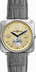 Bell & Ross Aviation BR-S Gold BR-S Gold Ivory Dial
