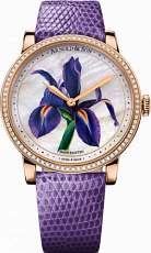 Arnold & Son Royal Collection HM Flower Purple Iris 1LCMP.M03A.L512A