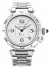 Cartier Pasha Steel Automatic 38mm W31031H3