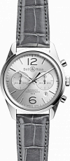 Bell & Ross Vintage Officer BR 126 Officer Silver