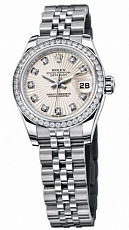 Rolex Datejust 26,29,31,34 mm 26mm Steel and White Gold 179384 Ivory